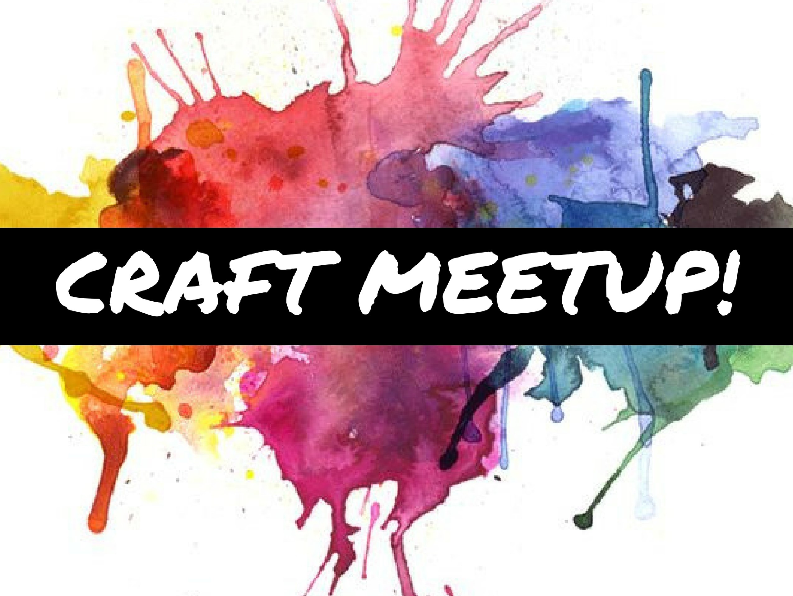 Every 2nd Thursday From 6pm 8pm Bring Your Crafts To The Library Work On In A Group We Will Provide Refreshments And Some Supplies Including Our Cricut